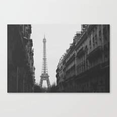 Paris Nº6 Canvas Print