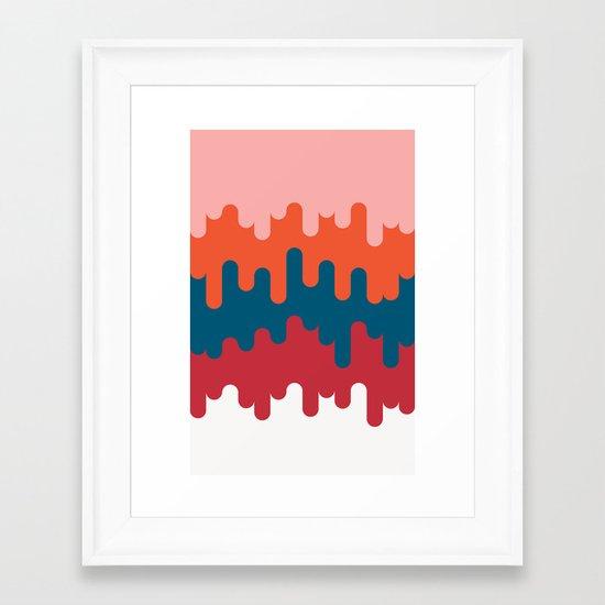 Theme Park Framed Art Print