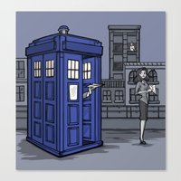 PaperWho Canvas Print