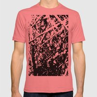 Dense forest Mens Fitted Tee Pomegranate SMALL