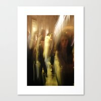 Dance/swing Canvas Print