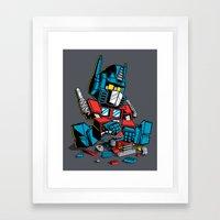 AUTOBLOCKS Framed Art Print