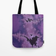 Purple Explosion Tote Bag