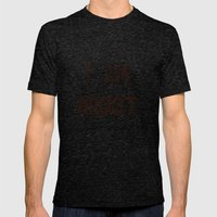 I AM GROOT Mens Fitted Tee Tri-Black SMALL