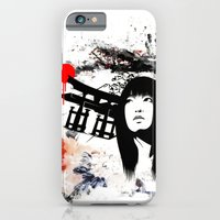 Japanese Geisha Warrior iPhone 6 Slim Case