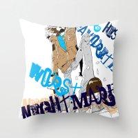 Ezra  Throw Pillow