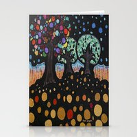 :: Night Forest :: Stationery Cards