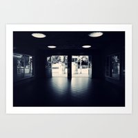 Abandoned Train Station, Berlin Art Print