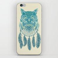 Midnight Dream Catcher iPhone & iPod Skin