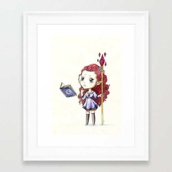 Magic Muffin Framed Art Print
