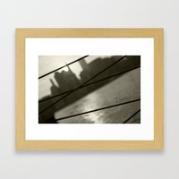 Trapped Framed Art Print