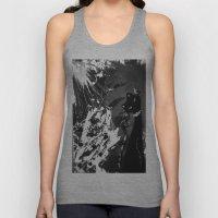 Black Cat Storm Unisex Tank Top