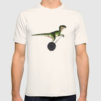 Eureka! Mens Fitted Tee Natural SMALL