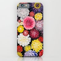 iPhone & iPod Case featuring Dahlias by Ginta Spate