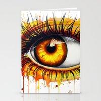 -Soul fire- Stationery Cards