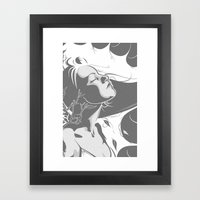 Somebody I Used To Know Framed Art Print