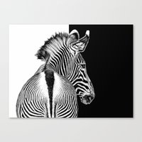 designed by nature Canvas Print