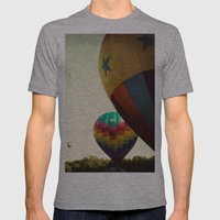 Take Me Higher Mens Fitted Tee Athletic Grey SMALL