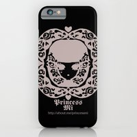 black and white girl iPhone 6 Slim Case