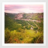 Southern France Art Print