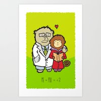 The Science Of Love Art Print