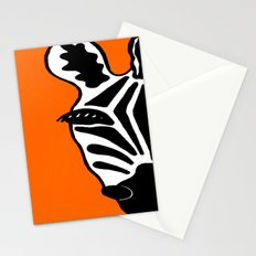 Two Face Zebra Stationery Cards