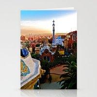Barcelona - Gaudí's Par… Stationery Cards