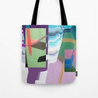Split and Twist Tote Bag
