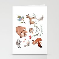 Camp Companions Stationery Cards