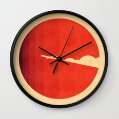 The Long Goodbye Wall Clock