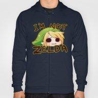 Link Is Not Zelda Hoody