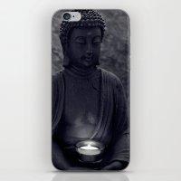 Buddha In The Dark iPhone & iPod Skin