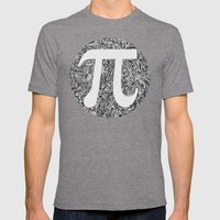 PI Mens Fitted Tee Tri-Grey SMALL