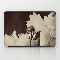 White Peony iPad Case