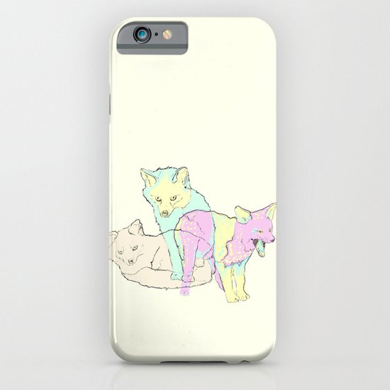 3 Channel Island Foxes iPhone & iPod Case