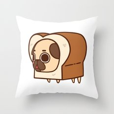 Puglie Loaf Throw Pillow