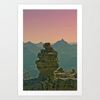 The Grand Canyon Art Print