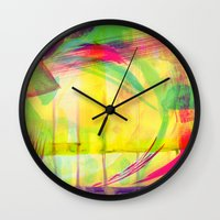 City Lights Wall Clock