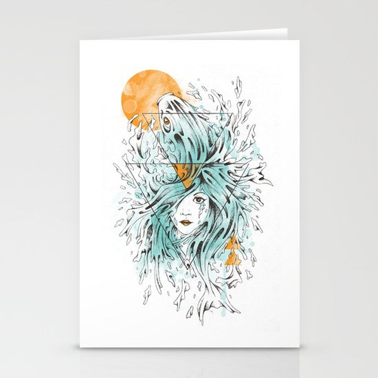 ariel 2.0 Stationery Card