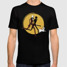 Jack and zero Mens Fitted Tee Black SMALL