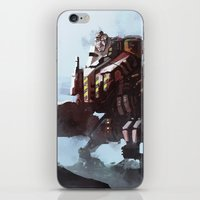 Mech walker iPhone & iPod Skin
