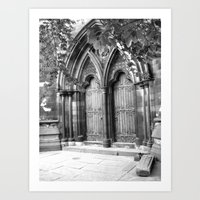church door Art Print