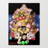Ding! Ding!! Canvas Print