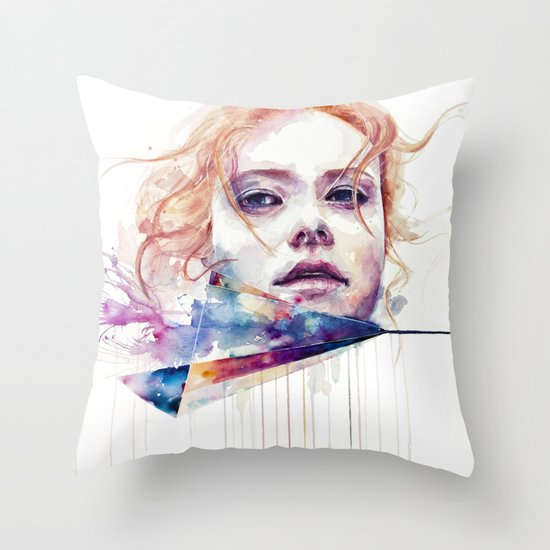 conspiracy of silence Throw Pillow