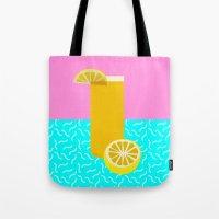 Lemonade /// www.pencilmeinstationery.com Tote Bag