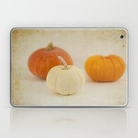 Three Little Pumpkins Laptop & iPad Skin