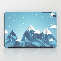 Cool Mountains iPad Case