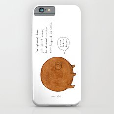the spherical bear iPhone 6 Slim Case