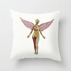 Nirvana - In Utero Throw Pillow