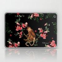 Monkey World: Nosy Laptop & iPad Skin